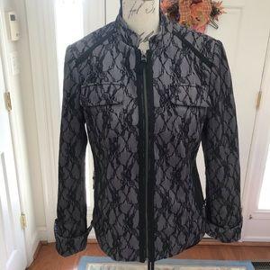 Tribal Jackets & Coats - Tribal Lace Black Blazer